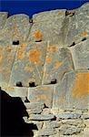 Precise Inca stonework at Ollantaytambo.
