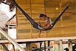 Pérou, Amazon, Amazon River. Le village flottant de Belen, Iquitos.