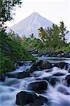 Philippines,Luzon Island,Bicol Province,Mount Mayon (2462m). Near perfect volcano cone.