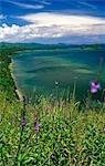 Philippines,Negros Island,Danjugan. The Southern coastline of Negros Island.