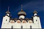Russland, Weißes Meer, Solowezki-Inseln. Die Retter-Kathedrale Transfiguration.