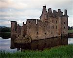 Caerlaurock Castle.