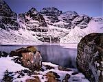 Loch frais un Lochain, un Teallach.
