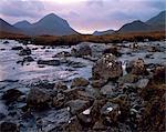 River Sligachan and the Cuilins,Isle of Skye.