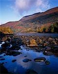 River Leven and Mam na Gualainn.