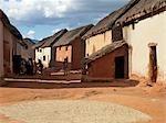 An attractive Betsileo village near Ambalavao,Madagascar