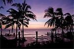 La piscine à débordement la Pemba Beach Hotel près de Pemba au nord du Mozambique.