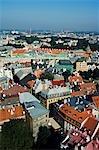 Dome Cathedral and Riga Castle on the River Daugava