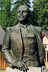Lithuania,Druskininkai. A Stalin statue in Gruto Parkas near Druskininkai - a theme park with Soviet sculpture collections of Lenin and Stalin.