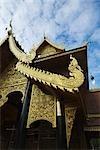 Buddhist Learning Center at Wat Phrathat Pha Ngao, Chiang Saen, Chiang Rai Province, Thailand