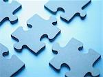 Jigsaw Puzzle-Teile