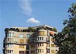 Paris, France, apartment building