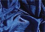 Zerknitterte blau Stoff, Nahaufnahme, full-frame