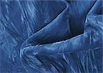 Blauer Stoff, Nahaufnahme, full-frame