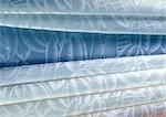 Folded fabric, close-up, full frame