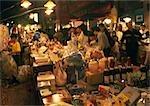 Street market at night