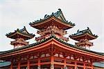 Heian Shrine, Kyoto, Kyoto Prefecture, Kansai Region, Honshu, Japan