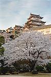 Himeji Castle, Himeji City, Hyogo, Kansai Region, Honshu, Japan