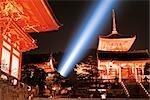 Temple Kiyomizu, Kyoto, préfecture de Kyōto, région du Kansai, Honshu, Japon