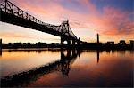 Queensboro bridge à new york