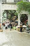 La Chine, province du Guangdong, rue du marché