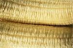 Peeled bananas, extreme close-up