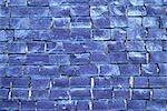 Carrelage bleu, full frame