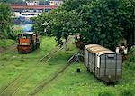 Myanmar, railway cars