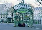 France, Paris, Abesses metro station
