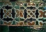 Mosaic tiles, close-up