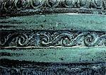 Geschnitzte Windung Motiv, close-up