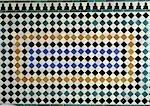 Fliesen Mosaik, close-up