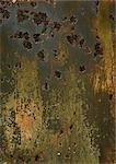 Dark worn-down surface, close-up