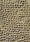 Muster in geschnitzte Stein, close-up