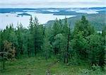 Suède, paysage côtier
