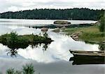 Finlande, bord du lac