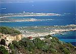 Coastal landscape, Corsica, France