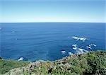 Nouvelle-Zélande, vue sur la mer de la côte
