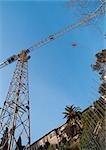 Crane, low angle view