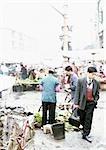 China, Guangxin Autonomous Region, Laibin, open-air market