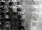 Metallic surface, extreme close-up