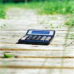Calculator on path