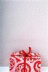 Cadeau de Noël aux couleurs vives