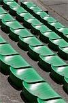 Seats at a Racetrack, Spa, Liege, Wallonia, Belgium