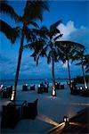 Medium Rare Restaurant at Dusk, The Beach House at Manafaru, Maldives