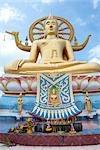Statue du grand Bouddha, Ko Samui, Thaïlande