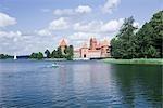Insular Castle on Galve Lake, Trakai, Lithuania