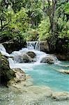Tat Kuang Si Waterfall, Luang Prabang, Louangphabang Province, Laos