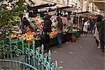 Street Market, Paris, Ile-de-France, France