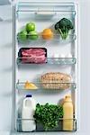 Fridge with Healthy Foods